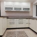 кухня в классическом стиле, мдф фасады эмаль